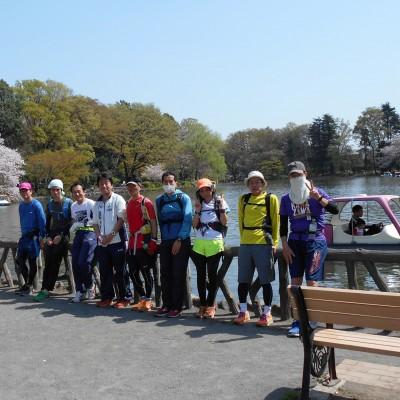約13kmが頼朝伝説が残る善福寺公園の上池です。