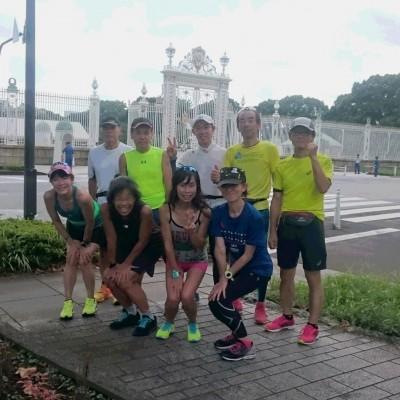ランステ公認練習会:伴野コーチの「豊洲ぐるり公園 街ラン15km」6月