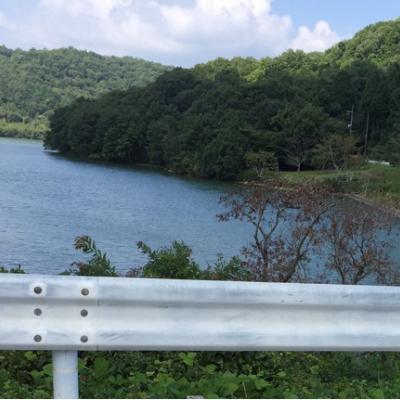 青野ダムの人造湖、千丈寺湖周回コース(三田市)