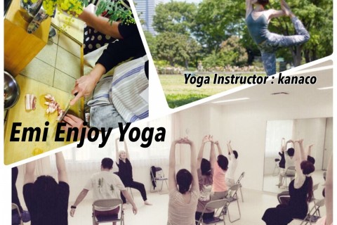 9/16(日)Yoga & Cooking