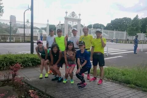 ランステ公認練習会:伴野コーチの「豊洲ぐるり公園 街ラン15km」8月