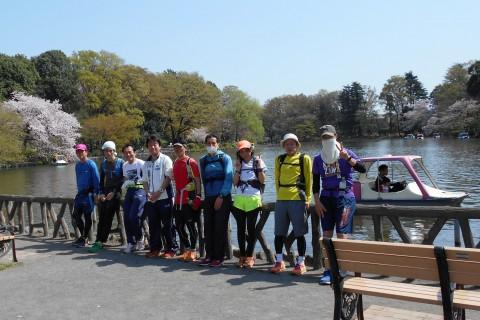 コスモス武蔵野観光ラン!神田川、井の頭公園、善福寺池、妙正寺池を巡る21km&10km