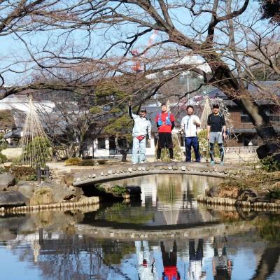 大名屋敷跡巡りラン!細川庭園、後楽園、東京大学、上野、浅草寺、隅田川、皇居を巡る30km&21km他