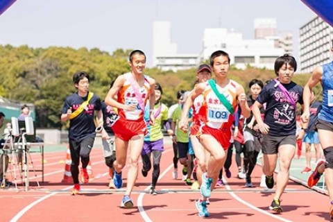"""夕涼み""""絆""""2時間耐久リレーマラソン大会"""