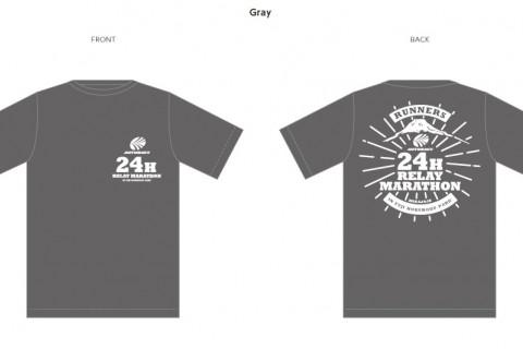 第24回ランナーズ24時間リレーマラソンin富士北麓公園(大会限定Tシャツ販売)