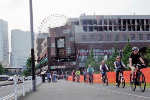 e-バイクに乗って横浜観光ツーリング  in YOKOHAMA CYCLE STYLE