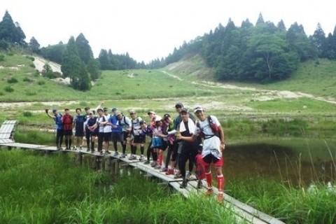 川ドボン!比良山系最高峰 武奈ヶ岳トレイルラン