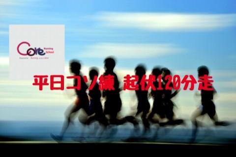 【平日コソ練】筋肉と心肺、ココロに効く多摩丘陵120分起伏走 ~コアランニングスクール180分練習会