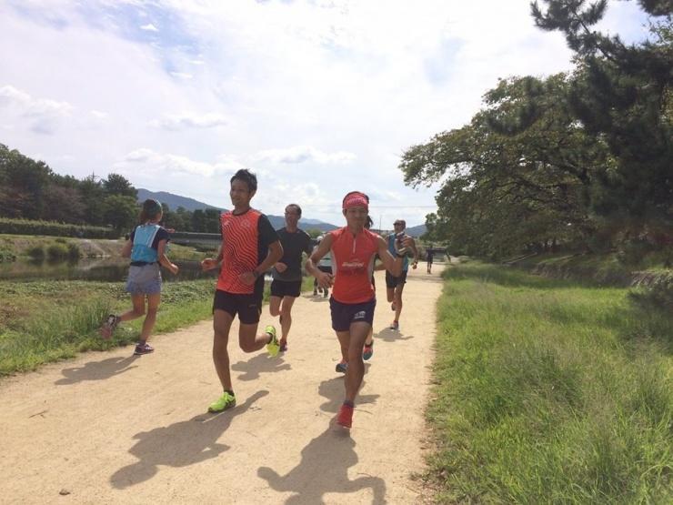 9/29 日曜日開催!マラソンの仕上げに京都鴨川30k ペースセッター エイド 計測 ジェル付き