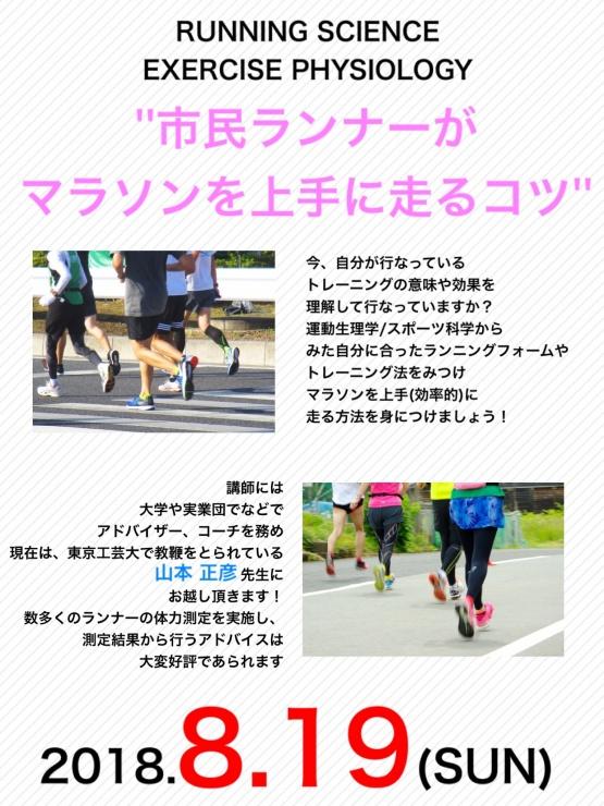 科学からみた市民ランナーがマラソンを上手に走るコツ