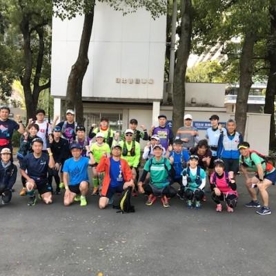 ランステ:オリンピックコースをなぞる・秋のロングマラニック50km9月
