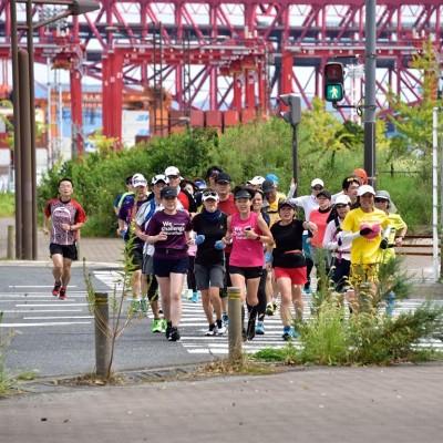 大阪マラソンコース(後半部分)試走練習会
