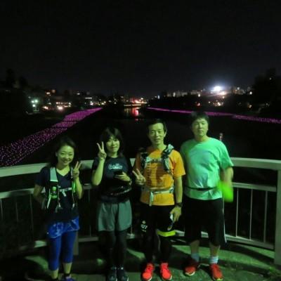 [JoyRun☆978th]<金沢ナイトラン・夏の夜のライトアップな街・花火も見えるかも>