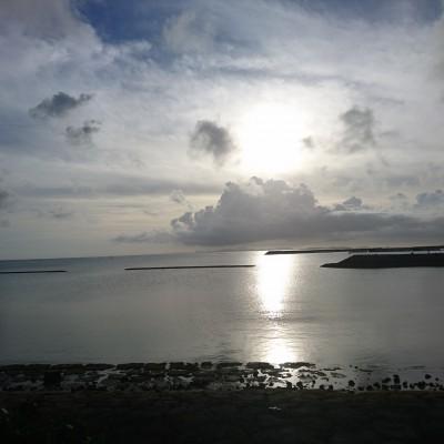 潮崎のビーチ(ポルトの目の前)