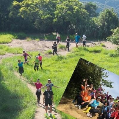 9月1日(土)涼しい森の中で『トレイルラン』  にチャレンジ in 逗子 & French
