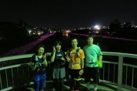 [JoyRun☆986th]ランで旅する <金沢ナイトラン・夏の夜のライトアップな街>