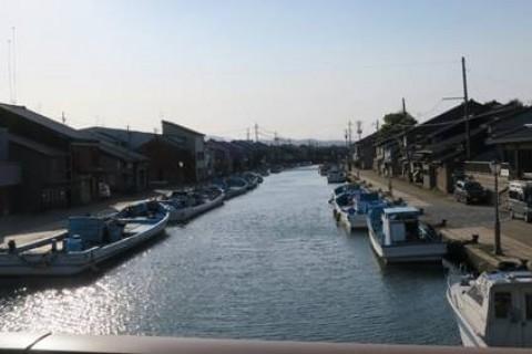 [JoyRun☆985th]ランで旅する 〈新湊・ロケ地めぐり 夏の海辺・日本のベニス5km〉