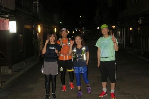 [JoyRun☆989th]ランで旅する <金沢ナイトラン・秋の夜のライトアップな街>