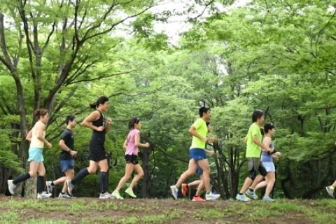 【7月】木下裕美子の代々木公園クロカン部