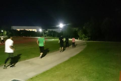 スポーツ・健康の森公園ナイトラン(10月23日)