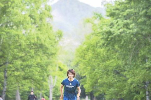 坂本8の字コースペース走&1km不整地快調走(子供参加OK)