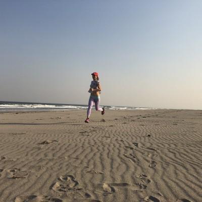 夏の浜練習&キリンビール見学