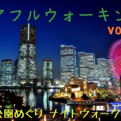 第13回チアフルウォーキング 横浜☆公園めぐり ナイトウォーク!