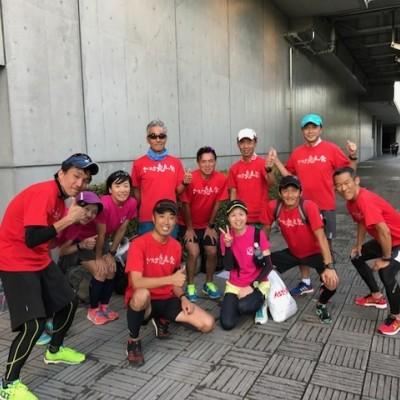 ランステ:「さいたま国際M」コース試走街ラン 42km(1)