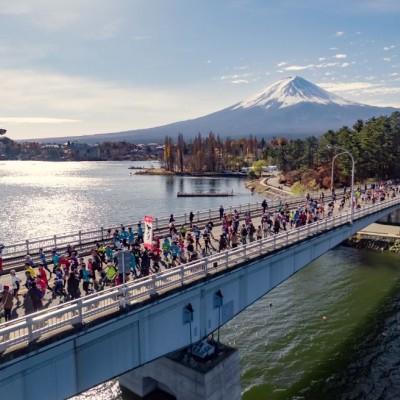 """【富士山マラソン公式練習会】20km走@皇居 """"走ろうにっぽん"""""""