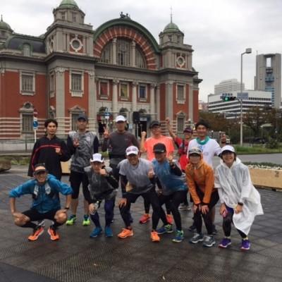 ランステ:「大阪M」コース試走街ラン 42km(2)