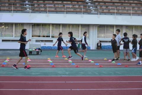 1.26【50m計測会】おのみち陸上教室~東京五輪に向けて50mタイム計測!~