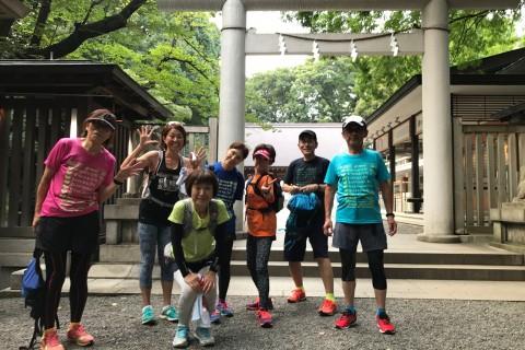 [JoyRun☆999th]麻布十番納涼祭りと江戸の歴史跡ジョイラン