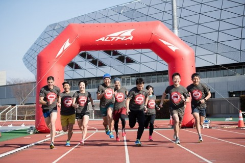 ALTRA TIME TRIAL SERIES in東京