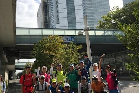 ランステ:「さいたま国際M」コース試走街ラン 42km(2)