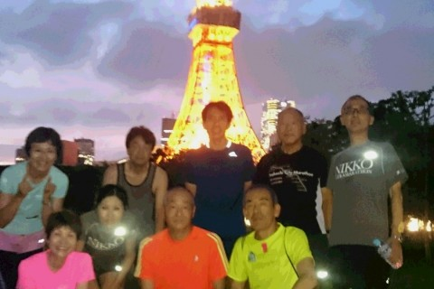 ランステ公認練習会:伴野コーチの「坂道練習ラン(霞が関周辺10km)」8月