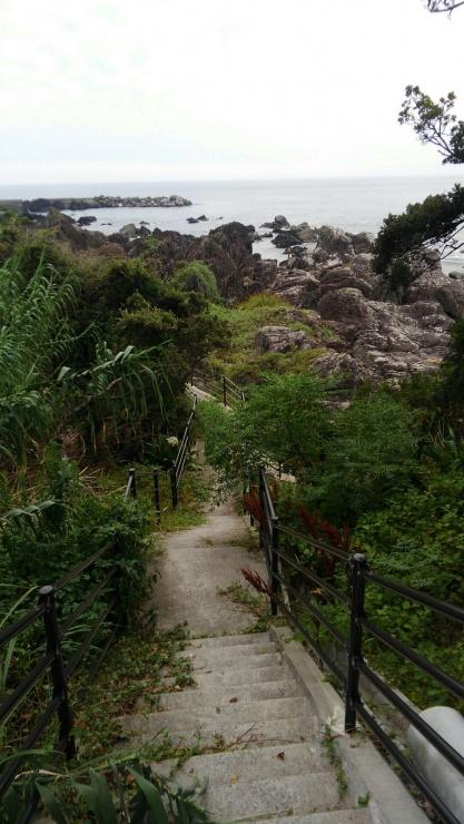 不動岩から金剛頂寺を目指す(後半コース)