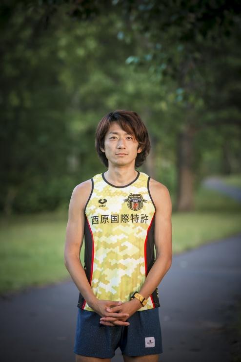 コーチの沖です。マラソンを専門に走っています。
