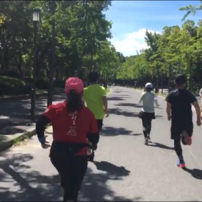 大阪城公園 Vientoサブ4練習会  30k走&ガーミンランニングダイナミクス試着会予定