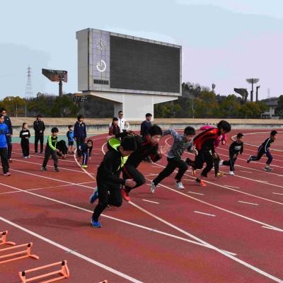 9.24【第4回50m選手権おのみち】ダッシュ大会イベント