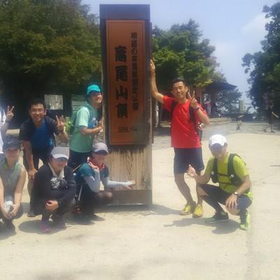 高尾山ナイトトレイル 高尾山口~高尾山頂 約6.2キロ 1000円