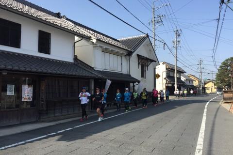 信州須坂ハーフマラソン試走会