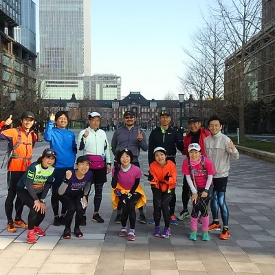 ランステ:「TOKYO」コース試走街ラン 42km 12月(4)