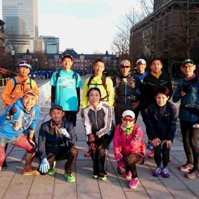 ランステ:「TOKYO」コース試走街ラン 42km 1月(4)