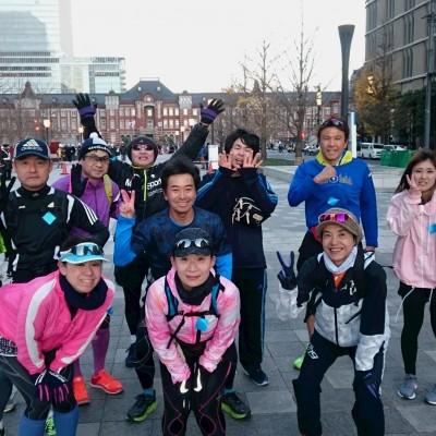 ランステ:「TOKYO」コース試走街ラン 42km 2月