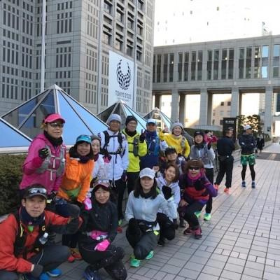 ランステ:「TOKYO」コース試走街ラン 42km 12月(3)