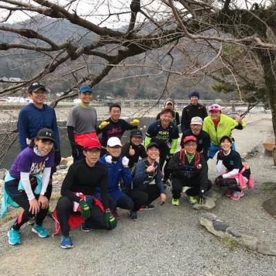 ランステ:「京都M」コース試走街ラン 42km(1)