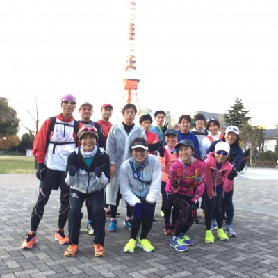 ランステ:「TOKYO」コース試走街ラン 42km 1月(1)