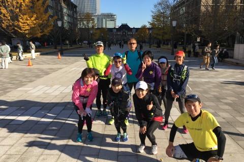 ランステ:「TOKYO」コース試走街ラン 42km 12月(5)