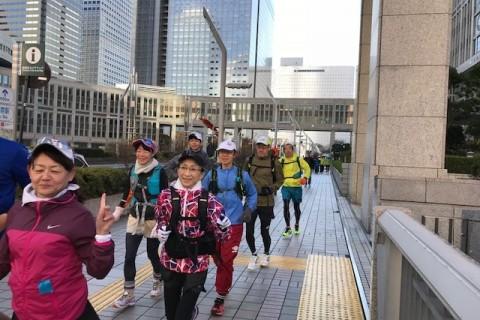 ランステ:「TOKYO」コース試走街ラン 42km 1月(3)