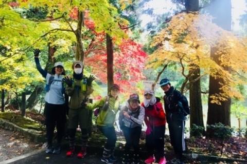 はじめての京都嵐山紅葉ランニングツアー